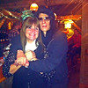 Meg Griffin/Courtesy photo. Meg Griffin with Peter Wolf of the J. Geils Band on New Year's Eve. Wolf and his band were performing at the Stone Mountain Arts Center in Brownfield, Maine.