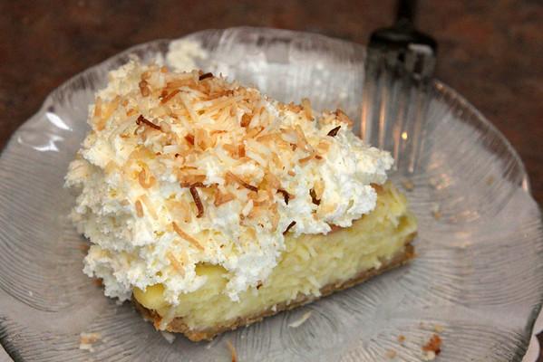 Allegra Boverman/Cape Ann Magazine. The coconut cream pie at Village Restaurant in Essex.