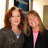 Photo Courtesy of Meg Griffin/Cape Ann Magazine Disc jockey Meg Griffin, right, with musician Bonnie Raitt.
