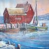 Desi Smith/Cape Ann Magazine. Capt. Steve Squillace's piece depicting Motif No. 1.