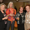 Desi Smith/Cape Ann Magazine. From left are Diane Anderson, Christine Lovgren, Mary Malone and Mary Alfieri at Jazz on the Rocks held at the Shalin Liu Performance Center on Nov. 2 ,2012