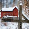 Desi Smith/Cape Ann Magazine. A mailbox designed to resemble Motif No. 1 in Rockport..