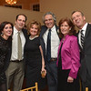 Desi Smith/Cape Ann Magazine. Gloucester:  Cape Ann Chamber of Commerce held its 91st Annual Dinner Dance on Jan. 26,at Cruiseport Gloucester From left are Felicia (Ciaramitaro) Mohan, Barry Mohan, Pat Ciaramitaro, incoming President Ed Collard, Marsha Collard, and Joey Ciaramitaro, the evening's emcee.