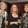 Desi Smith/Cape Ann Magazine. Catherine Marenghi  is flanked by Jeannie McIntyre, left, and Cynthia Tennant at the Shalin Liu Performance Center on Nov. 2, 2012