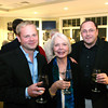 Gloucester: Tom Lang, right, and Alexander Westchaft  attend the annual Raising the Roof gala put on by Rockport Music and the Bass Rock Golf Club.<br /> Photo Silvie Lockerova