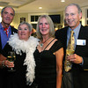 """Gloucester: Heinz Grohs, right, Dawn Grohs, Chris Barker and Jim Barker attend the annual """"Raising the Roof gala"""" put on by Rockport Music and the Bass Rocks Golf Club.<br /> Photo Silvie Lockerova"""