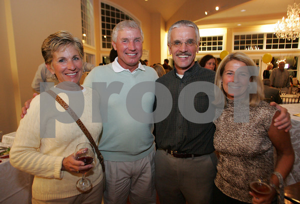 Gloucester: Kathy and George Lieser with Bob Gillis and his wife Pixie Harrington attend the Taste of Cape Ann at Cruiseport. Mary Muckenhoupt/Staff Photo