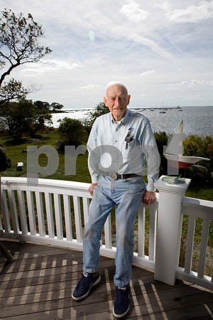 Gloucester author Joe Garland's home on Eastern Point. Photo by Kate Glass