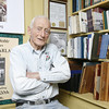 Gloucester author Joe Garland. Photo by Kate Glass.