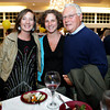 Gloucester: From left Caitlyn Burke and her sister Moira Burke, both of Manchester and their father Kevin Burke of Gloucester attend the Taste of Cape Ann at Cruiseport. Mary muckenhoupt/Gloucester Daily Times