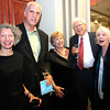 "Gloucester: Gloucester: Marta Bach, right, Robert Gallagher, Marie Gallager, Alan Joslin and Deborah Epstein attend the annual ""Raising the Roof"" gala put on by Rockport Music at the Bass Rocks Golf Club."