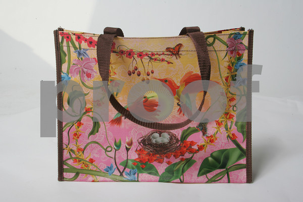 Always carry a little bit of summer around with this 100 percent Recyclable Shopping Bag<br /> Tote bag $10