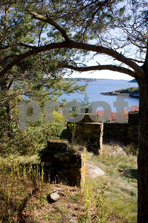 Great Misery Island:The ruins of an early-20th-century resort reveal that this offshore retreat was a haven for leisure and recreation a century ago.Staff photo/Amy Sweeney