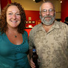 Gloucester: Tricia O'Neill and Steve Brettler of Gloucester attend Gloucester Stage Company's end of season party. Photo by Kate Glass/Cape Ann Magazine