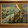 Gilbert Tucker Margeson paintings at Granite Savings Bank in Rockport