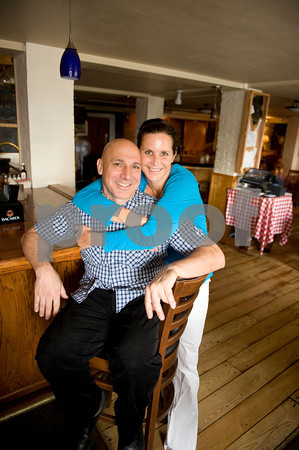 Joe Thomas Gnerre and  memory Layne, co-owners of Guiseppe's Ristorante and Piano Bar.<br /> Photo by Desi Smith