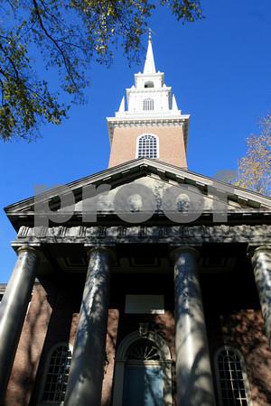 ALLEGRA BOVERMAN/Staff photo. Cambridge: Memorial Church at Harvard University.
