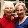 Jackie Littlefield, left, member of Wellspring's 30th Anniversary Concert Committee with Kay O'Rourke, Executive Director of Wellspring House.