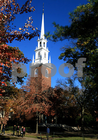 ALLEGRA BOVERMAN/Staff photo. Cambridge: Memorial Church at Harvard University.