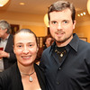 Dr. Nicole K. Andrade and Matt Service.