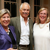 Judy and Carl Gustin with Mayor Carolyn Kirk.