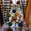 Yuletide Inn Bed and Breakfast is located at 51 Mount Pleasant St. in Rockport. Marie Fletcher has a wide-ranging ornament collection.<br /> Photo by Desi Smith.