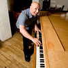 Joe Thomas Gnerre, co-owner of Guiseppe's Ristorante and Piano Bar, entertains <br /> Photo by Desi Smith