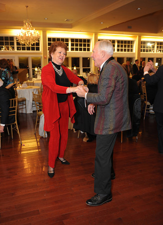 Bea Waring of Rockport and her husband, Bayard hit the dance floor at the Diamond Anniversary Gala for the Cape Ann Symphony's 60th Anniversary on February 4,2012.