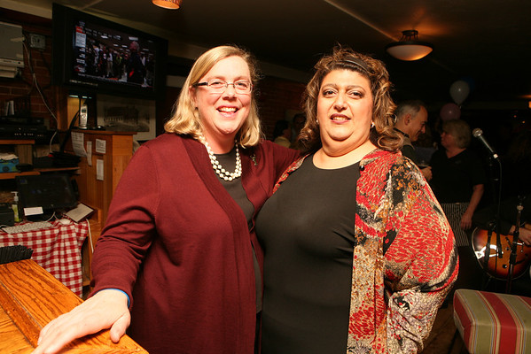 Mayor Carolyn Kirk at her 50th birthday party held at Giuseppe's Ristorante December 21, 2011.<br /> Photo by Amy Sweeney.