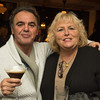 Desi Smith/Staff Photo.  Gloucester residents Mario and Michele Balistreri attended the Grand Opening Party at Pinoli, the new italian restuarant at 3 Duncan Street that replaced Alchemy on December 16,2014.