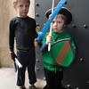Desi Smith/Cape Ann Magazine.   Twins Alexander and Oskar McNeice, 5, of Arlington, came to Hammond Castle with their swords for an event. Afterwards, they visited their grandmother in Magnolia.
