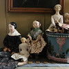Allegra Boverman/Cape Ann Magazine. The doll at center, Jane, is one of the first ones that Peggy Flavin made.