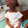 Allegra Boverman/Cape Ann Magazine. Peggy Flavin also creates early cloth dolls, such as this African American doll she calls Carolina.