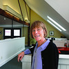 "MIKE SPRINGER/Staff photo<br /> Founder Livia Cowan at Mariposa's headquarters, a renovated, yellow 19th century livery stable called ""The Barn"" in Manchester. She started the company in her parents' garage in Gloucester in 1984."
