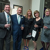 Desi Smith Photo.   From left to right,  Bruce Feldman, Matt Anzivino his wife Missy, Dawn Toge and Robin Feldman at the Chamber Dinner Dance held at the Beauport Hotel.
