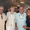 "Desi Smith Photo.    From left, Bill and Sue Lumbruno, John Novelloa and Laura Figurido all from Gloucester, attended the ""Sea to Supper"" community dinner to benefit the Gloucester Fishermen's Wives Association held on August 25,2016 at the Waterfront Pavilion Tent at Mile Marker One Restaurant and Bar."