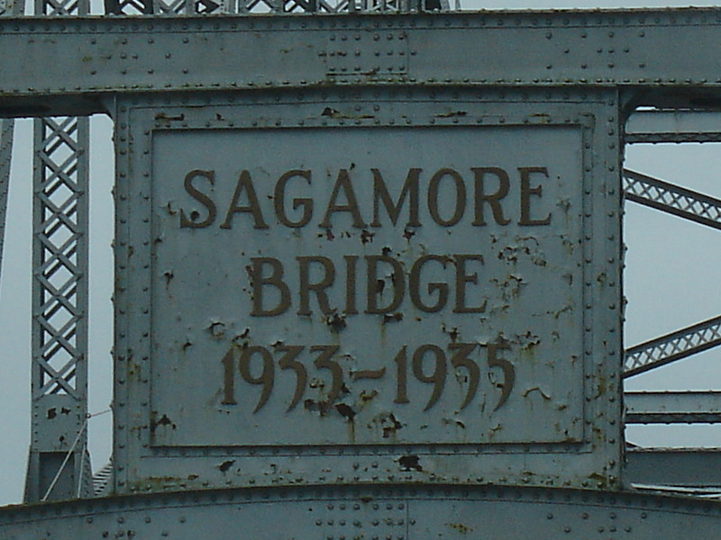 Does this mean the bridge was only there from 1933-1935??!!  Hope not, we drove across something!