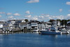 Hyannis Port Marina on our harbor cruise