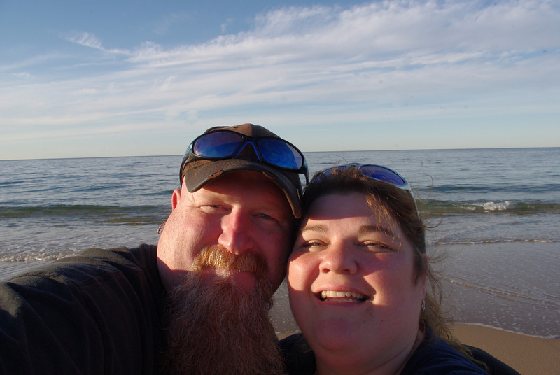 Mike and I at Race Point Beach