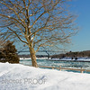 Cape Cod Canal under ice, February 2015