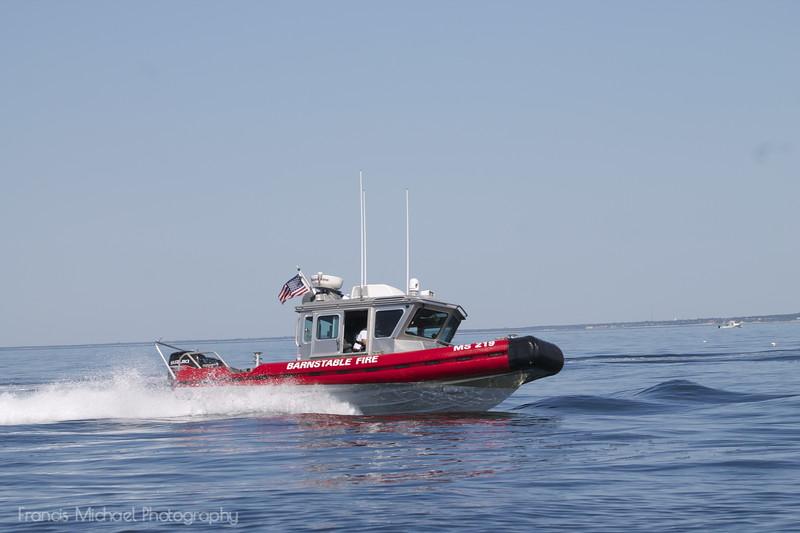 Barnstable Fire Department- Marine 219