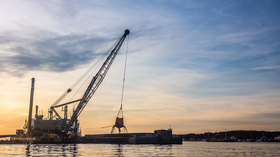 dredging Wellfleet Harbor