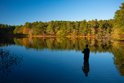 fisher inSnow Pond