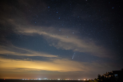 Comet Neowise over Ptown 7-20-2020