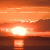 sunset over Ptown 8-6-04