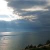 sunburst over Cape Cod Bay