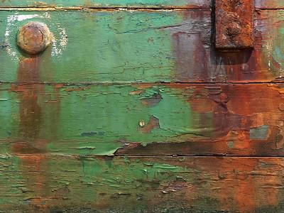 rusty ship detail