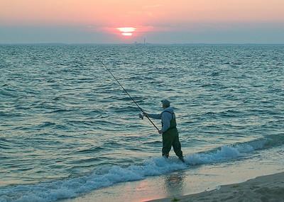 striped bass fisherman