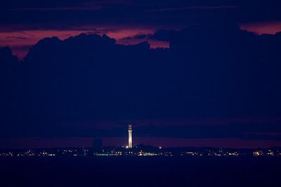 blue Provincetown dusk