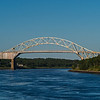 Sagamore Bridge from the Cape Cod Canal